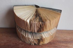 Miidle Fold Book