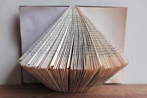 Top Bottom Fold Book